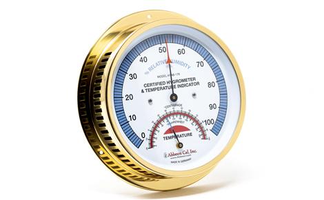 Brass Abbeon Hygrometer
